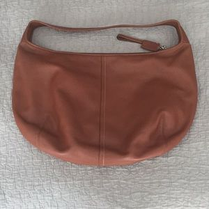 Coach hobo bag cognac color